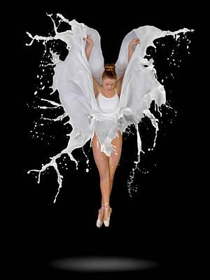 Wings Photograph - Liquidize by Pauline Pentony Ba