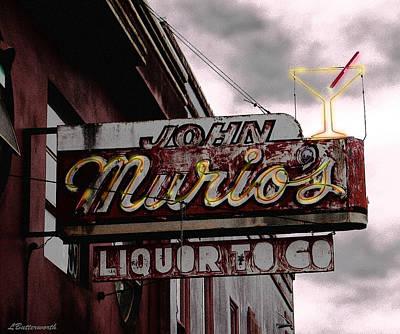 Liquor To Go Art Print by Larry Butterworth