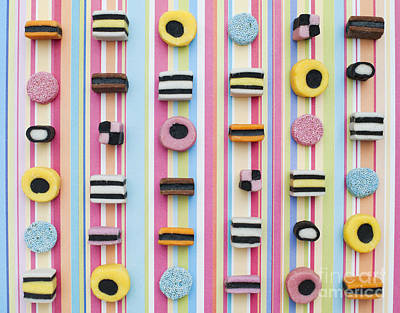 Licorice Photograph - Liquorice Allsorts by Tim Gainey