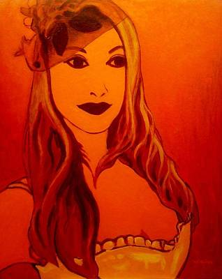 Lisa Darling II - The Irish Burlesque School Art Print by John  Nolan