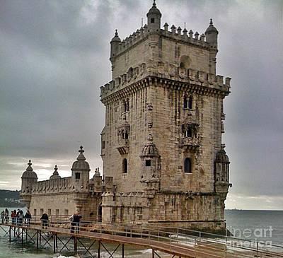 Photograph - Lisboa 2010-91-torre De Belem by Rezzan Erguvan-Onal