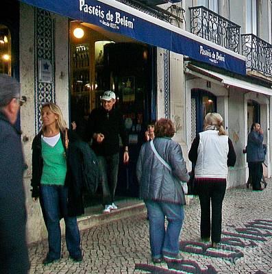 Photograph - Lisboa 2010-pasteis De Belem-1 by Rezzan Erguvan-Onal