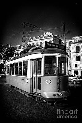 Old Photograph - Lisbon - 100 Years Old Typical Lisboan Tram by Jose Elias - Sofia Pereira