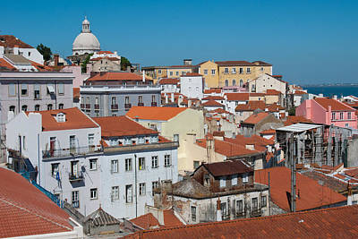 Photograph - Lisbon Alfama District by Cascade Colors