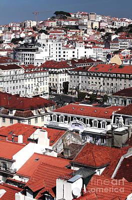 Photograph - Lisbon Cityscape II by John Rizzuto