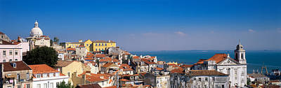 Lisbon, Cityscape, Skyline, Portugal Print by Panoramic Images