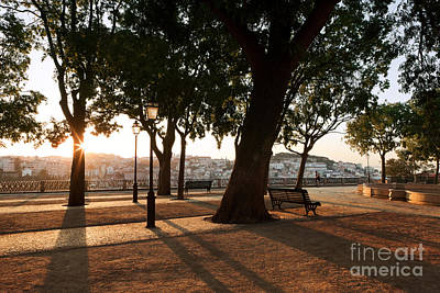 Pedro Photograph - Lisbon Dawn by Rod McLean