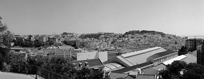 Photograph - Lisbon Pano On Film by Luis Esteves
