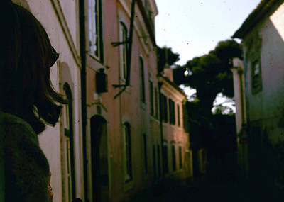 Photograph - Lisbon Side Street by Donna Walsh