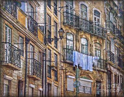 Photograph - Lisbon Street Face by Hanny Heim