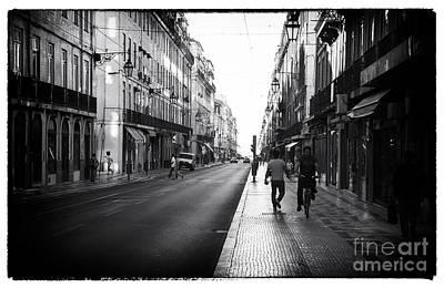 Photograph - Lisbon Street Scene I by John Rizzuto