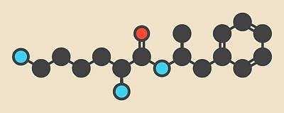 Schizophrenia Photograph - Lisdexamfetamine Mesylate Molecule by Molekuul
