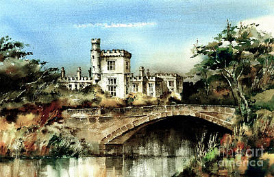 Painting - Lismore Castle Waterford by Val Byrne