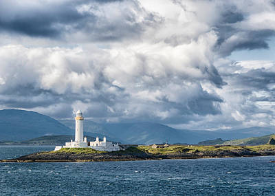 Photograph - Lismore Lighthouse by Alan Toepfer