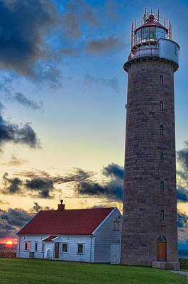 Lista Photograph - Lista Lighthouse by Kenneth Gjesdal