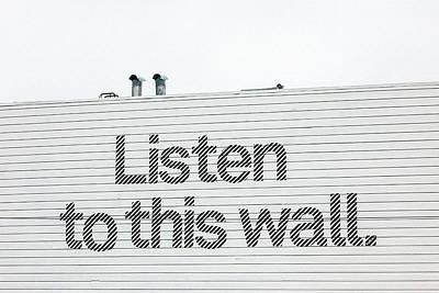 Haight Ashbury Wall Art - Photograph - Listen by Art Block Collections