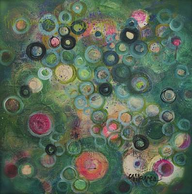 Painting - Listen. Rejoice by Laurie Maves ART