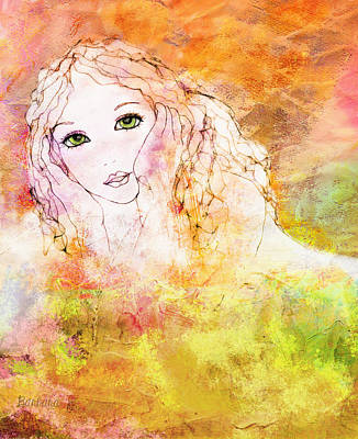Youth Digital Art - Listen To The Colour Of Your Dreams by Barbara Orenya