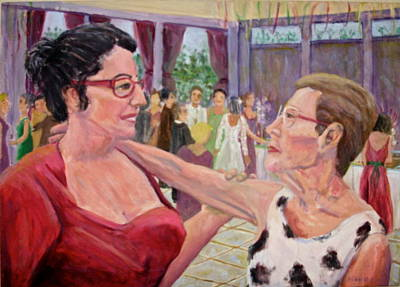 Listen To Your Aunt Art Print by Bonnie Wilber