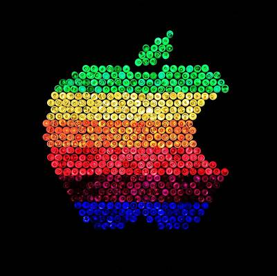 Ipod Photograph - Lite Brite Macintosh by Benjamin Yeager