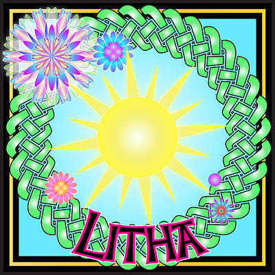 Digital Art - Litha Festival by Ireland Calling