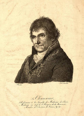 Lithe Drawing - Litho De Berdalle., Head-and-shoulders Portrait Of Francois by Litz Collection