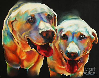 Painting - Litter Mates by Charice Cooper