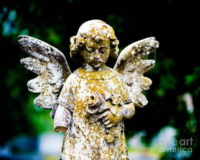Little Angel Art Print by Sonja Quintero