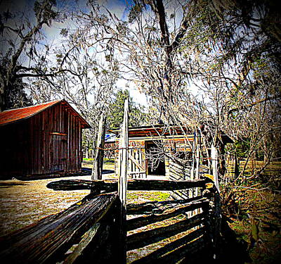 Photograph - Little Barns 1 by Sheri McLeroy