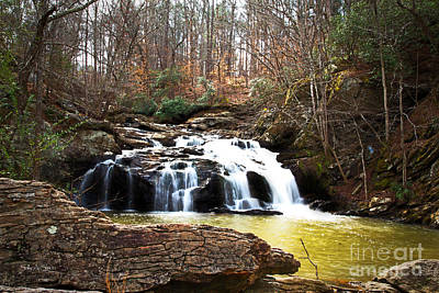 Photograph - Little Bear Creek Falls 2 by Sally Simon