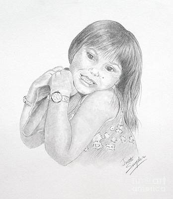 Drawing - Little Bella by Joette Snyder