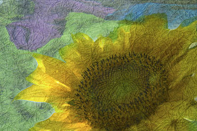 Sunflowers Mixed Media - Little Big Town by Trish Tritz