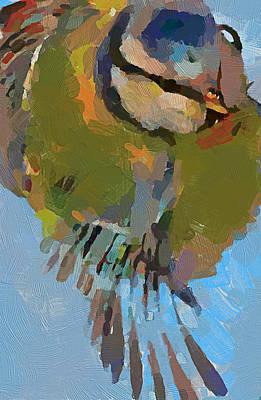 House Pet Digital Art - Little Bird by Yury Malkov
