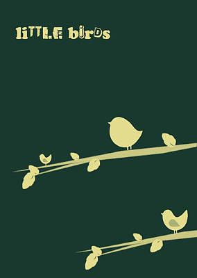 Little Birds Art Print by Mark Ashkenazi