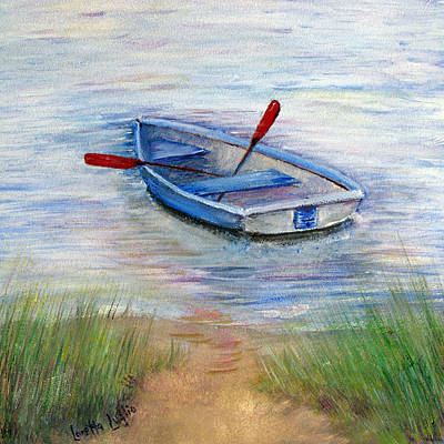 Painting - Little Boat by Loretta Luglio
