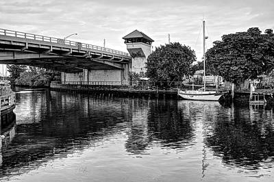 Photograph - Little Boat On The Miami River by William Wetmore