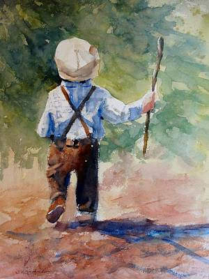 Painting - Little Britches by Sandra Strohschein