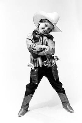 Cowboy Hat Photograph - Little Buckaroo by Jerry McElroy