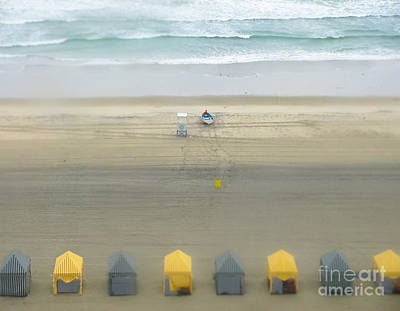 Photograph - Little Cabanas - Beach - Ocean by Colleen Kammerer