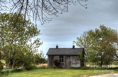 Photograph - Little Cabin On The Prairie by Deborah Smolinske