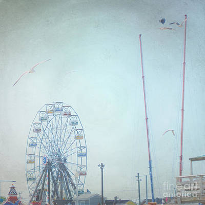 Little Carnival Town Art Print by Sharon Coty