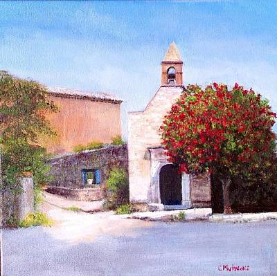 Painting - Little Chapel France by Cindy Plutnicki