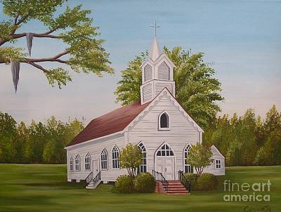 Painting - Little Chapel by Valerie Carpenter