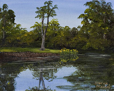 Painting - Little Chico Pond by Darice Machel McGuire