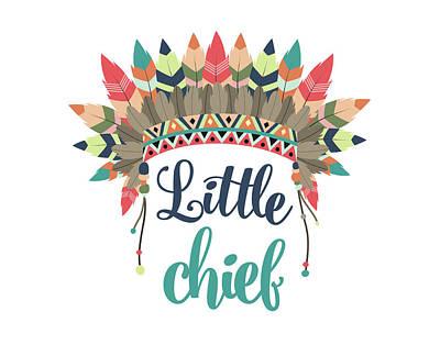 Little Chief Art Print by Tamara Robinson