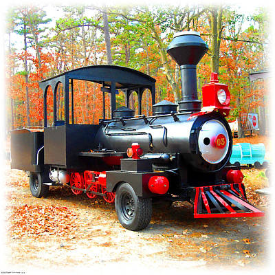Digital Art - Little Choo-choo Truck by K Scott Teeters