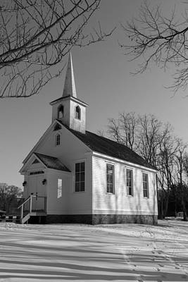 Photograph - Little Church On The Grange by Sara Hudock