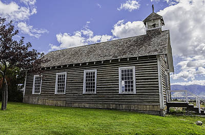 Photograph - Little Church - World Mining Museum by Fran Riley