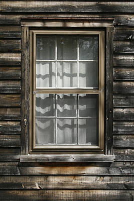 Photograph - Little Cottage Window by Kristia Adams