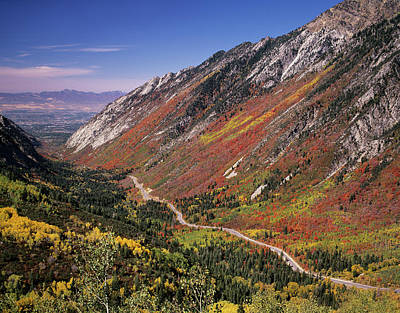 Little Cottonwood Highway (s Art Print by Howie Garber